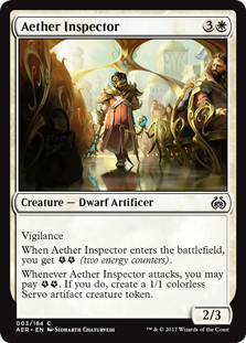Aether Revolt: Aether Inspector