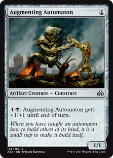 Aether Revolt: Augmenting Automaton