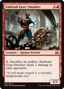Aether Revolt: Embraal Gear-Smasher