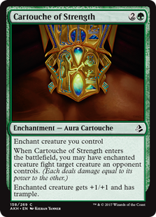 Amonkhet: Cartouche of Strength
