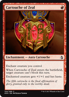 Amonkhet: Cartouche of Zeal