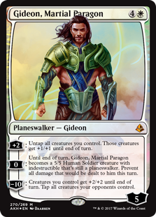 Amonkhet: Gideon, Martial Paragon