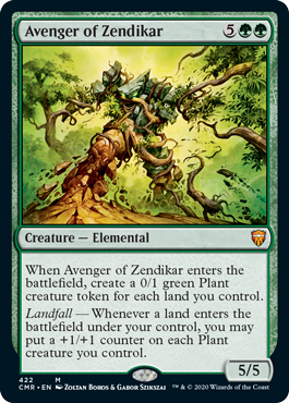 Commander Legends: Avenger of Zendikar