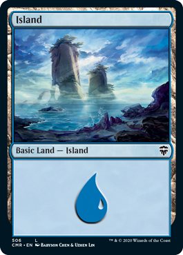 Commander Legends: Island