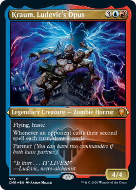 Commander Legends: Kraum, Ludevic