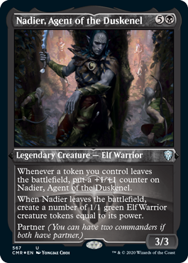 Commander Legends: Nadier, Agent of the Duskenel