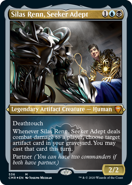 Commander Legends: Silas Renn, Seeker Adept