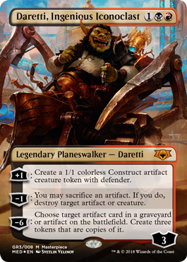 Guilds of Ravnica Mythic Edition: Daretti, Ingenious Iconoclast