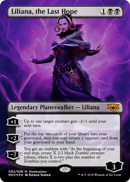 Guilds of Ravnica Mythic Edition: Liliana, the Last Hope