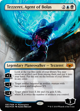 Guilds of Ravnica Mythic Edition: Tezzeret, Agent of Bolas