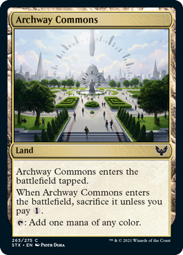 Strixhaven School of Mages: Archway Commons