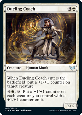 Strixhaven School of Mages: Dueling Coach