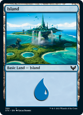 Strixhaven School of Mages: Island