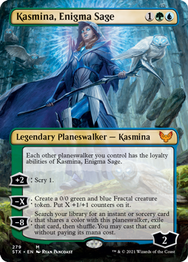 Strixhaven School of Mages: Kasmina, Enigma Sage