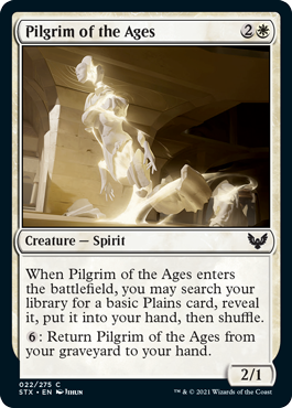 Strixhaven School of Mages: Pilgrim of the Ages