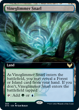 Strixhaven School of Mages: Vineglimmer Snarl